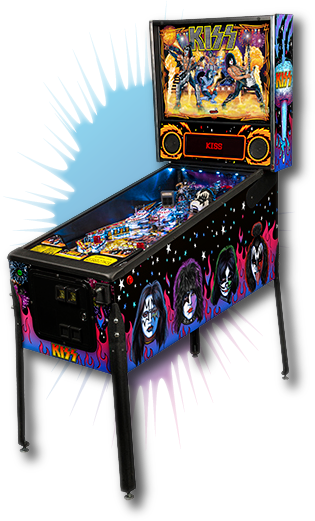 Stern Pinball Joins The KISS Army with the release of KISS Pinball